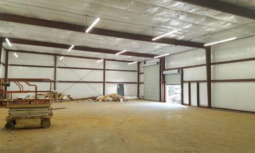 Accufab Warehouse Interior