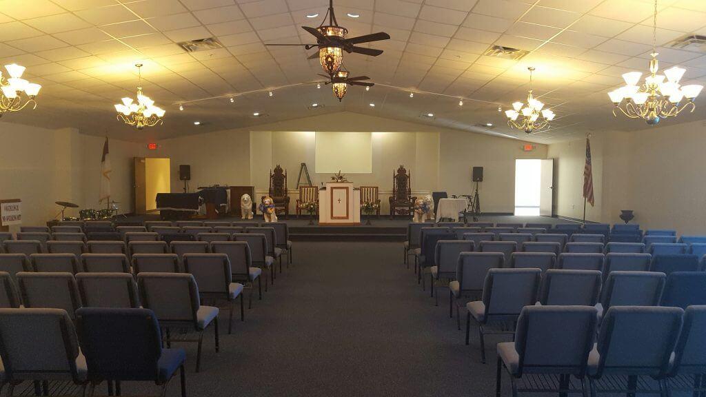 Faith Temple Church Sanctuary