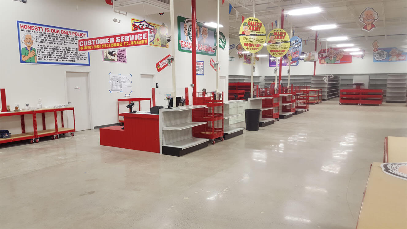 Ollie's Bargain Outlet Interior
