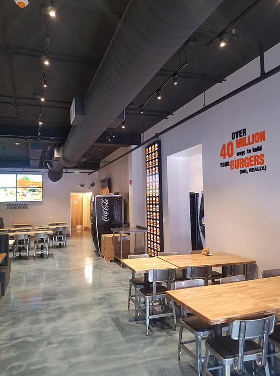 BURGERIM Restaurant Interior 2