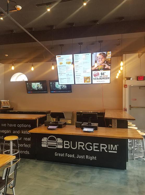 BURGERIM - Front Counter
