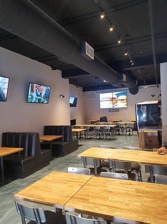 BURGERIM Restaurant Interior