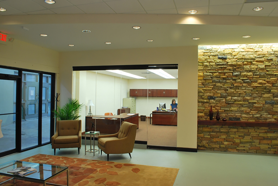 Reception Area - Reddy Solutions Project