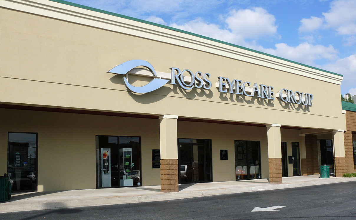 Ross Eyecare Store Front