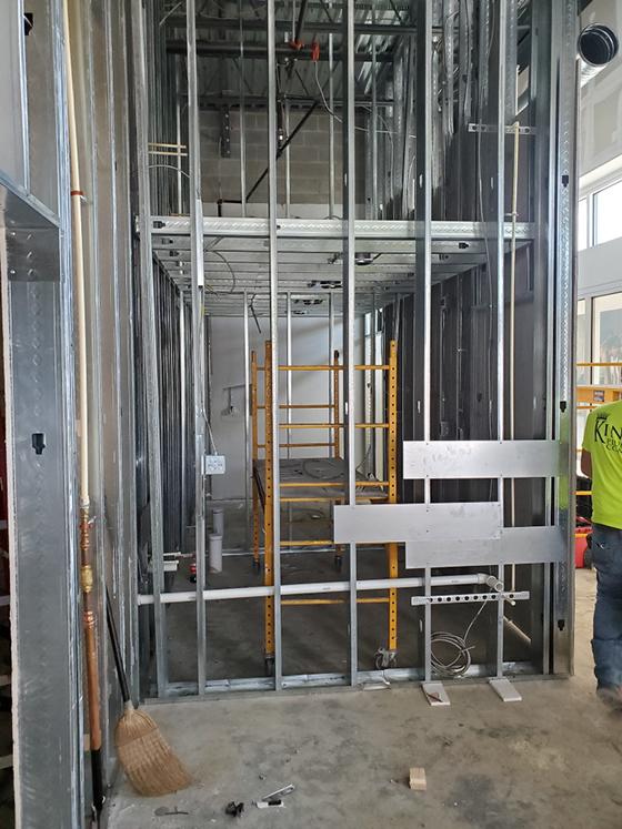 Spenga Marietta Construction Project Plumbing Work